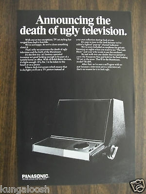 Original 1967 Panasonic Starstream Television Ad