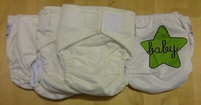 Overstock Sampler: Lot of 5 Kawaii Heavy Duty One-Size Pocket Diapers