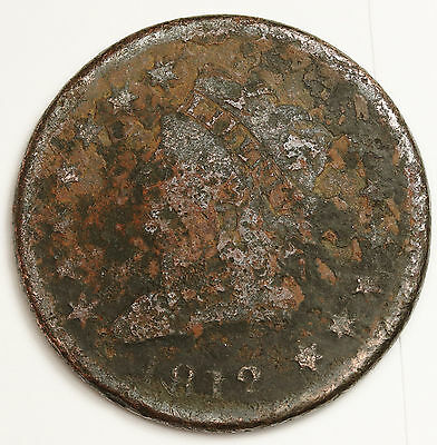 1812 Large Cent.  Circulated.  97348