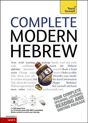 Complete Modern Hebrew: Teach Yourself (Book/CD Pack) (Paperback). 9781444105438