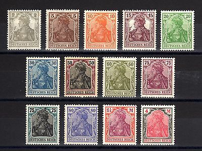 6014-GERMAN EMPIRE-LOT MNH Stamps.1916-1922.WWI.DEUTSCHES REICH.Alemagne.GERMANY