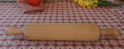 Antique Rolling Pin Solid 1 Piece
