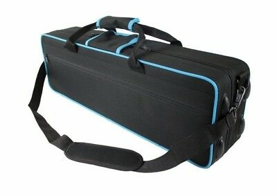 Soprano Saxophone CASE -  Black with Blue Trim - Case ONLY -BRAND NEW