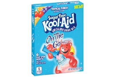 Kool Aid On The Go Sugar Free Tropical Punch Drink Mix Singles
