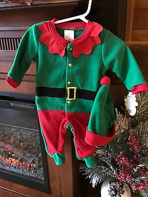 NWT Baby Gear Elf Outfit, Size 0 To 3 Months