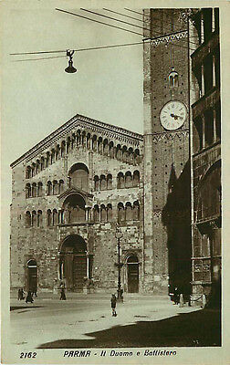 Real Photo Postcard Roman Catholic Cathedral in Parma, Italy