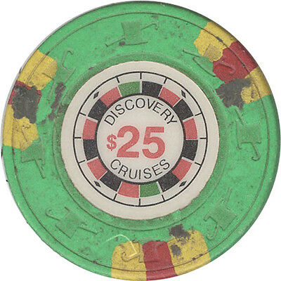 Discover Cruise Lines - $25 Casino Chip