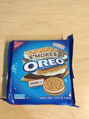 Limited Edition Smores Oreo Cookies  15.35 oz. 11/14/2016