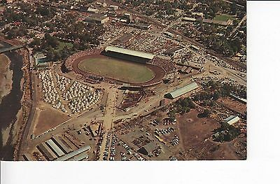 Aerial View: Pendleton Round-Up Rodeo Grounds & Indian Village 1960s