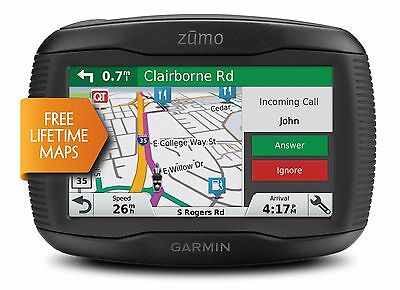 Garmin Zumo 395LM Motorcyle GPS Navigation North America Adventure 010-01602-00