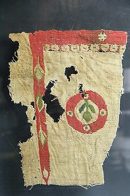 Pre-Colombia Chimu Textile Ancient Peru Nasca