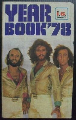 1979 Vintage! The Bee Gees Linda Ronstadt Special Music Year Book 1978 RARE!!!
