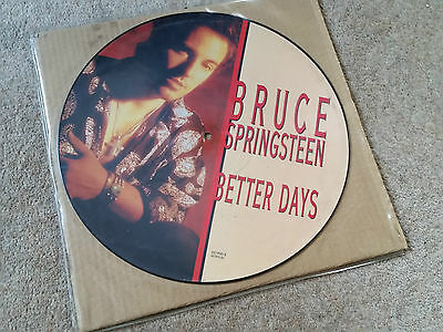 """Bruce Springsteen 12"""" Picture Disc Better Days"""