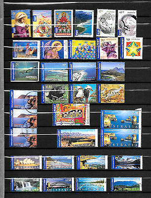 """Australien, Australia, 33 stamps for """"International"""" use, up to 5$, used"""