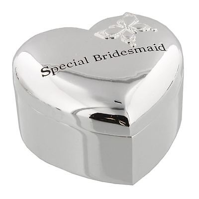 Amore by Juliana Wedding Gift - Special Bridesmaid Heart Trinket Box - WG444