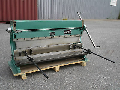 1000mm x 1mm 3-In-1 Sheet Metal Shear, PanBrake Folder, Slip Roller & Ring Rolls