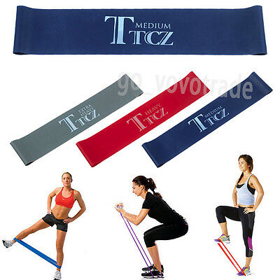Tension Resistance Training Fitness Bands Exercise Loop Crossfit Strength Weight