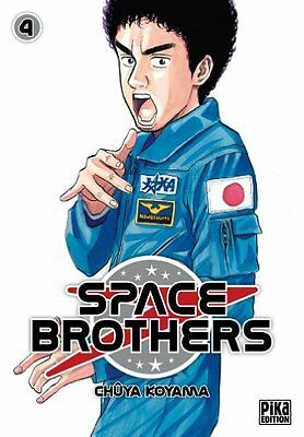 Space Brothers T04 Chuya Koyama Pika Pika Seinen Francais 220 pages Broche Book