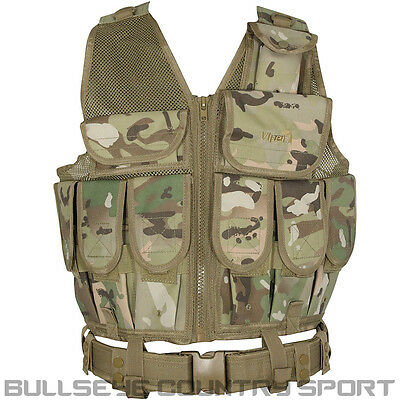 Viper Tactical Army Style La Special Forces Assault Vest Vcam Camo Airsoft