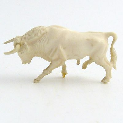 Antique Carved Figure Of A Bull