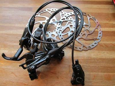 Shimano M615 Front & Rear Disc Brakes & XT Shifters 10 Speed