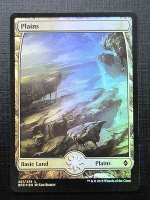 MTG Magic Cards: PLAINS 251/274 FOIL # 21C37