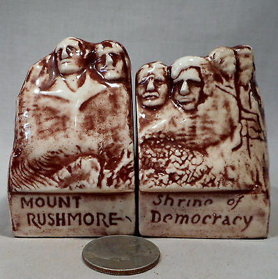 Vintage Mount Rushmore S&P Shakers