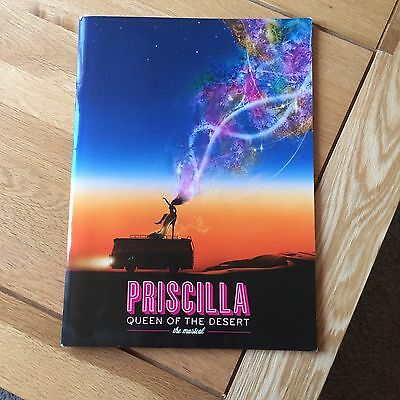 Priscilla Queen Of The Desert The Musical Large Glossy Brochure