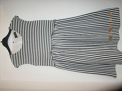 Girls Striped Dress from Next - Age 10 Years
