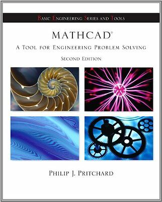Mathcad A Tool for Engineering Problem Solving Philip J. Pritchard 2 Pck Pap