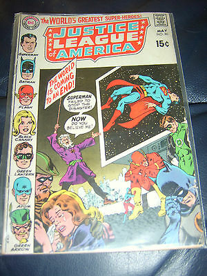 Justice League of America #80 May 1970 (VG+) Bronze Age