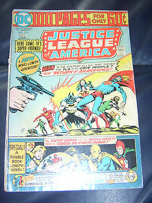 Justice League of America #114 Dec 1974 (FN-) Bronze Age 100 Page Giant Size