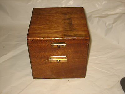 """NOS Small Chronometer Box 6-1/2"""" Uncompleted"""