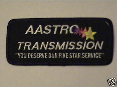 Aastro Transmission,you Deserve Our 5Star Service Patch