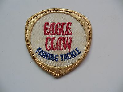 ORIGINAL,EAGLE CLAW FISHING TACKLE ,OLD STOCK ADVERTISING collectible patch