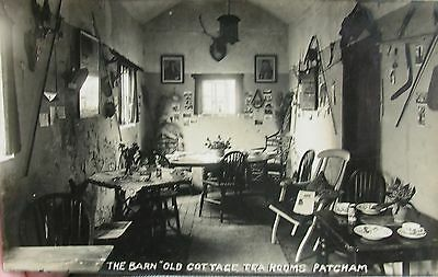 The Old Cottage Tea Rooms Patcham Brighton Sussex Early Rp Pc