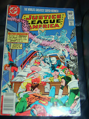 Justice League of America #205 Aug 1982 (FN-)