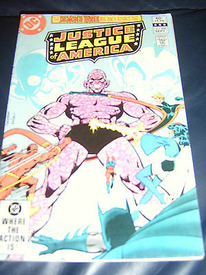 Justice League of America #206 Sept 1982 (FN+)