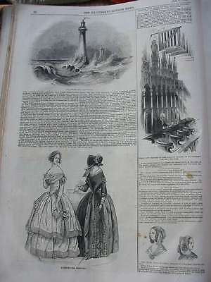LN-1844-Skerryvore Lighthouse-St.George Windsor-Fashion-Holzstich-engraving