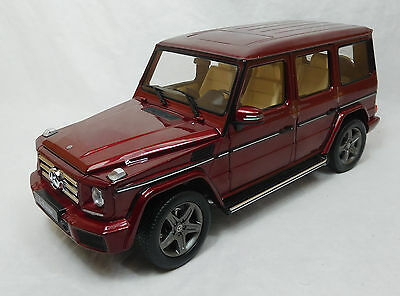 Modelcar Scale 1/18 1:18 Mercedes G-class W463 2015 THUlit red iScale