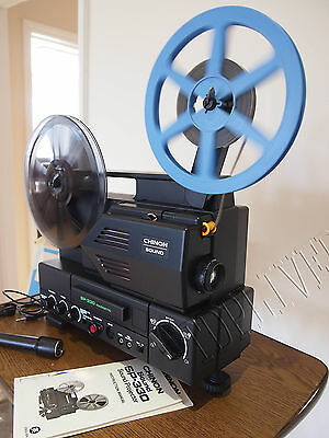 Chinon Magnetic Sound sp 330 SUPER 8 Sound CINE  PROJECTOR 0002