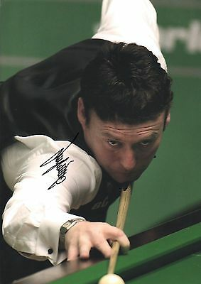 Jimmy White authentic hand signed snooker photo 2 AFTAL dealer M449