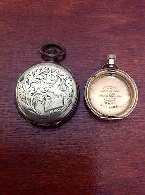 Two Antique Watch Cases Needing Attention