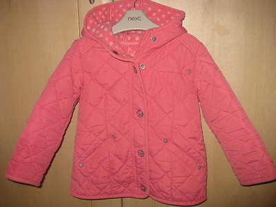 Next Girls Pink Coat Age 3-4