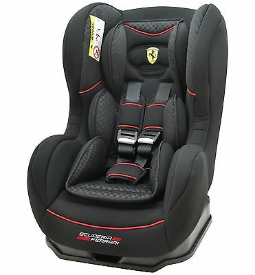 TT Ferrari Cosmo SP Luxe Group 0-1 Car Seat - Black.