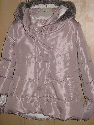 Blue Zoo Girls Padded Winter Coat Age 4-5