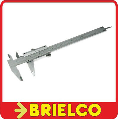 "Pie De Rey Calibre 150Mm 6"" Metalico Con Estuche De Transporte Ajustable Bd3755"