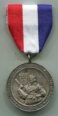 Vintage MILITARY ORDER OF SAINT BARBARA - FOR ARTILLERYMEN EVERYWERE Medal