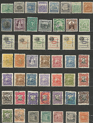 El Salvador from 1867 year nice collection old mint/used stamps