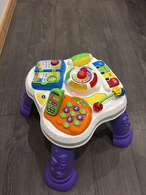 Vtech Play And Learn Activity Table - 6 Months +